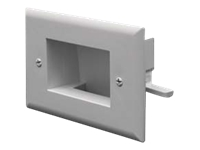 DataComm Easy Mount Low Voltage Cable Plate