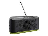 Grundig Music 45 DAB+ DAB bærbar radio neon green/black