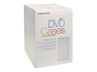 Memorex Slim Clear DVD Cases
