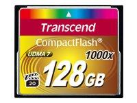 Transcend Cartes Flash TS128GCF1000