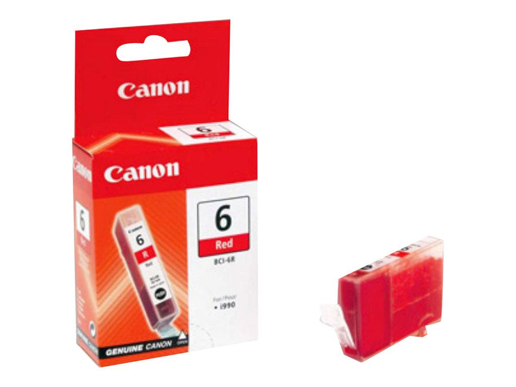 Canon BCI-6R - rouge - originale - réservoir d'encre