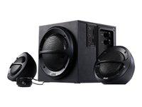 Bocinas KLX KES-350  2.1 36W Subw Ngr