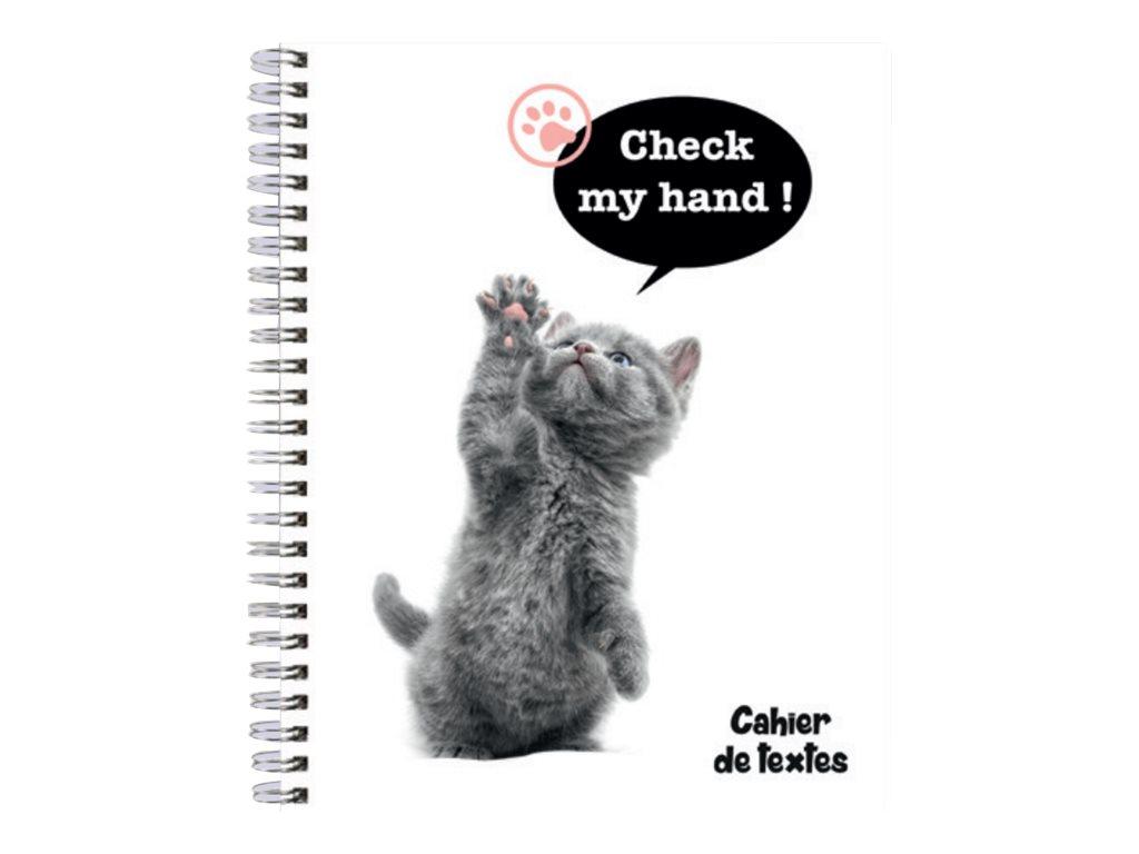 Exacompta Funny Pets - Cahier de texte - A5 + - 17 x 22 cm - disponible dans différentes couleurs
