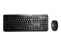 Adesso Wireless Desktop Keyboard & Mouse Combo WKB-1300UB