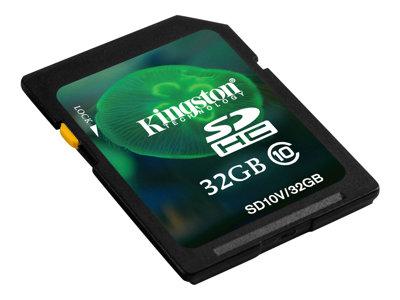 Kingston - tarjeta de memoria flash - 32 GB - SDHC