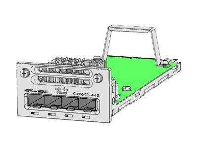 Cisco - módulo de expansión - 4 puertos