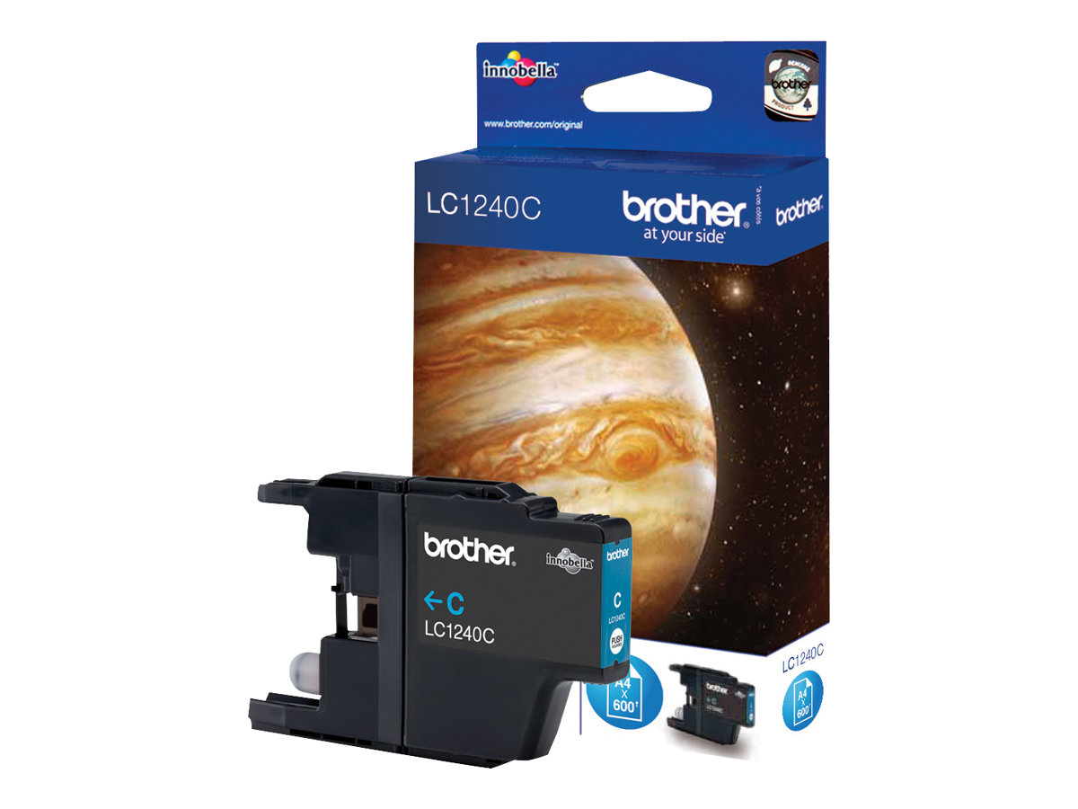 Brother LC1240C - cyan - originale - cartouche d'encre