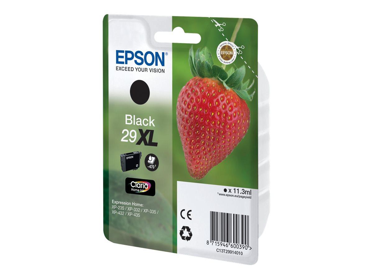 epson t29xl fraise rendement lev noire originale cartouche d 39 encre epson. Black Bedroom Furniture Sets. Home Design Ideas