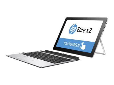 "HP Elite x2 1012 G2 - Tablet - with detachable keyboard - Core i3 7100U / 2.4 GHz - Win 10 Home 64-bit - 4 GB RAM - 128 GB SSD HP Value - 12.3"" IPS touchscreen 2736 x 1824 (WQXGA+) - HD Graphics 620 - Wi-Fi, Bluetooth - kbd: US - with HP Elite x2 1012 G2 Travel Keyboard, HP Active Pen"