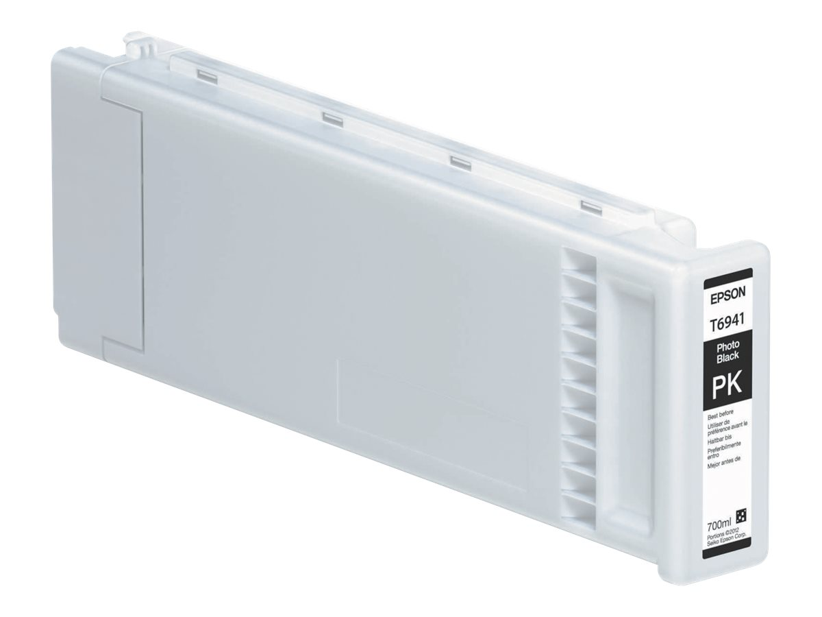 Epson T694100 - photo noire - originale - cartouche d'encre