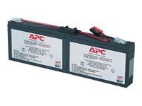 APC Batteries pour onduleur RBC18