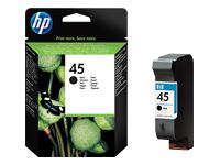 HP 45 Large - Large - noir - originale - cartouche d'encre