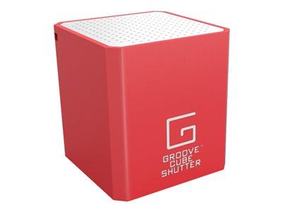WowWee Groove Cube Shutter Speaker - for portable use - wireless - Bluetooth - 2 Watt - Speaker - for portable use - wireless - Bluetooth - 2 Watt