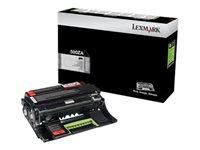 Lexmark 500ZA - noir - originale - unité de mise en image de l'imprimante - LCCP