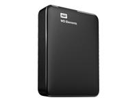 WD Elements Portable WDBU6Y0020BBK Harddisk 2 TB ekstern (bærbar)