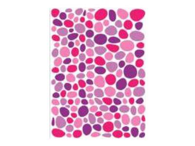 Oberthur Géométriques - 300 Gommettes - mosaïque - mauve