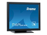 iiyama ProLite T1931SR-B5 19 Inch Black, 5:4 Resistive single touch, HDMI, Display Port