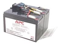APC Replacement Battery Cartridge #48 - batterie d'onduleur - Acide de plomb