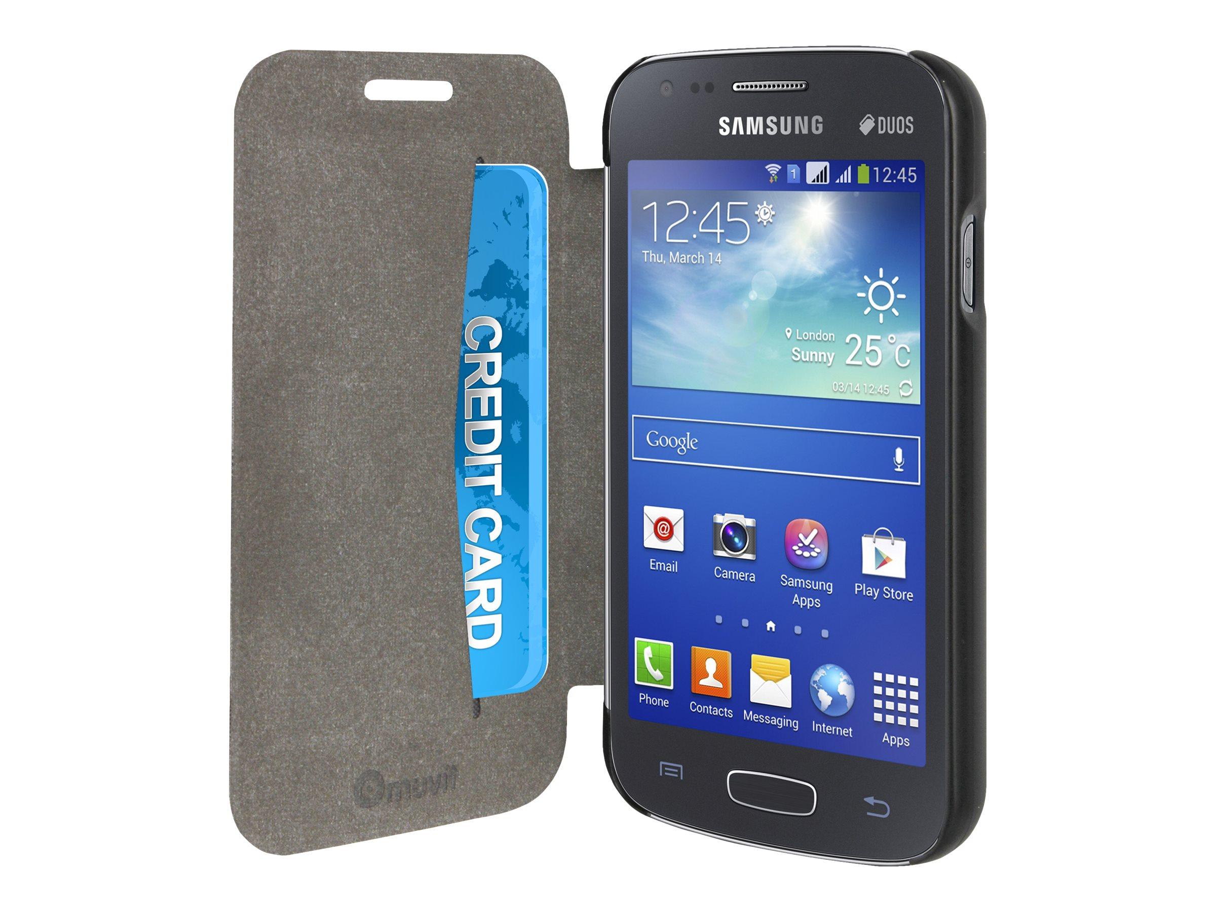 Muvit Ultra Slim Folio protection à rabat pour téléphone portable