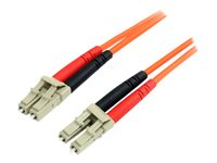 STARTECH - CABLES StarTech.com Multimode 62.5/125 Duplex Fiber Patch Cable LCFIBLCLC1