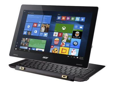 """Acer Aspire Switch 12 S SW7-272-M5S2 - Tablet - with keyboard dock - Core m3 6Y30 / 900 MHz - Win 10 Home 64-bit - 4 GB RAM - 128 GB SSD - 12.5"""" IPS touchscreen 1920 x 1080 (Full HD) - HD Graphics 515 - Wi-Fi - cooper brown"""