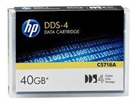 HP Cinta de datos DAT DDS-4 - 20GB / 40GBC5718A