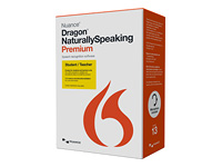 Dragon NaturallySpeaking Premium Student & Teacher Edition