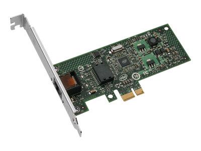 Intel Gigabit CT Desktop Adapter - Síťový adaptér - PCIe nízký profil - Ethernet, Fast Ethernet, Gigabit Ethernet - 10Base-T, 100Base-TX, 1000Base-T