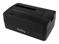 StarTech.com Station d'accueil USB 3.1 (10 Gb/s) pour disque dur SATA de 2,5 / 3,5 pouces - contrôleur de stockage - USB 3.1 (Gen 2)