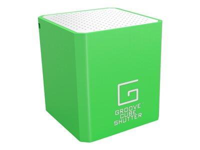WowWee Groove Cube Shutter Speaker - for portable use - wireless - 2 Watt - Speaker - for portable use - wireless - 2 Watt