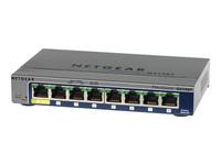 NETGEAR ProSafe GS108Tv2 8-Port Gigabit Smart Switch - commutateur - 8 ports - Géré - Ordinateur de bureau