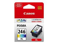 Canon CL-246 XL - High Capacity - color (dye-based cyan, dye-based magenta, dye-based yellow) - original - ink cartridge - for PIXMA iP2820, MG2520, MG2522, MG2525, MG2920, MG2922, MG2924, MG3020, MG3029, MX490, MX492