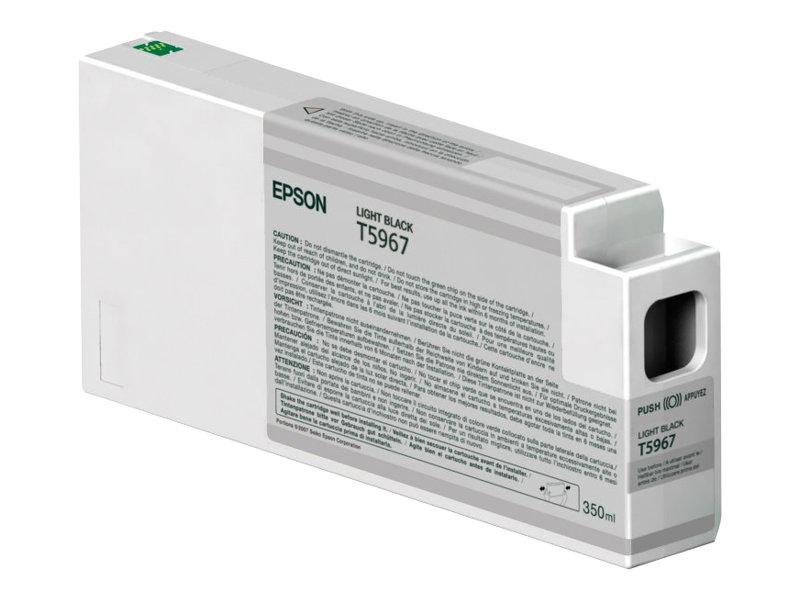 Epson - T5967 - 350 ml - noir clair - originale - cartouche d'encre