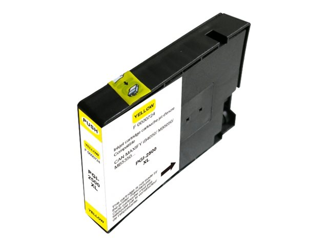 UPrint C-2500XLY - taille XL - jaune - cartouche d'encre (alternative for: Canon PGI-2500XL Y)