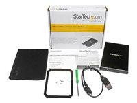 """StarTech.com USB 3.1 Gen 2 (10 Gbps) Enclosure for 2.5"""" SATA"""
