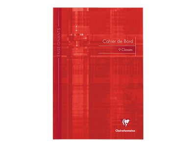 Clairefontaine - A4 - Cahier de bord - 21 x 29,7 - 60 pages