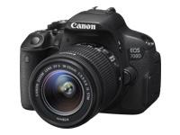 Canon EOS 700D - appareil photo numérique objectif EF-S 18-55 mm IS STM