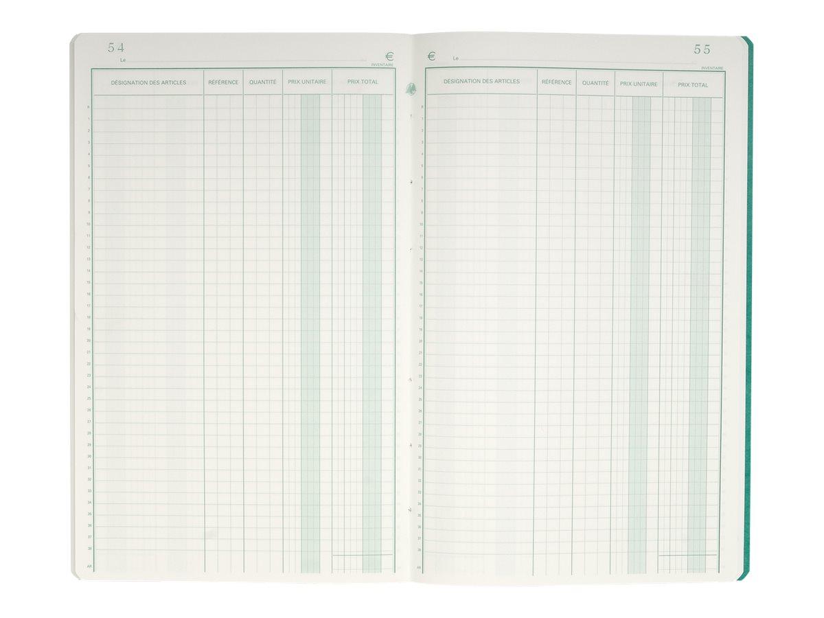 Exacompta - Livre d'inventaire - 80 pages - 320 x 195 mm - portrait