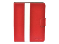 Gear Head Leather Style Executive Portfolio FS4300RED