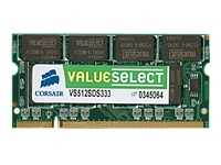 Corsair Value Select DDR2 2 GB SO DIMM 200-PIN 667 MHz / PC2-5300