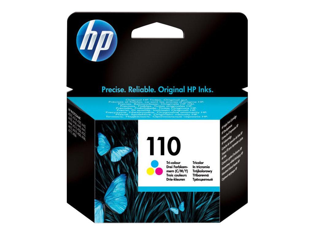 HP 110 - tricolore à base de colorant - originale - cartouche d'encre