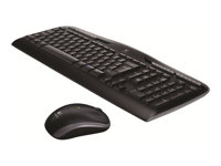 Logitech Wireless Desktop MK320 - Keyboard and mouse set - wireless