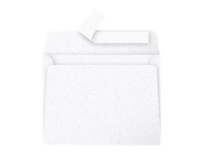 Pollen - Enveloppe - 90 x 140 mm - autocollant - blanc perle - pack de 20