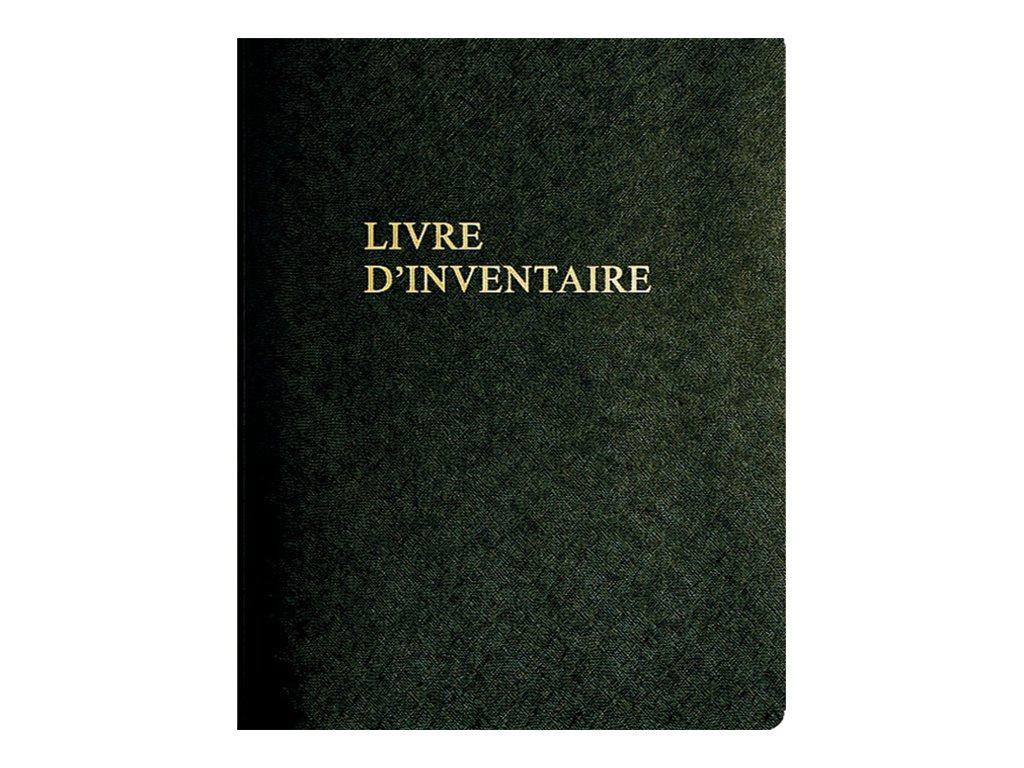 Exacompta - Livre d'inventaire - 100 feuilles - A4 - portrait