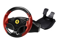 Thrustmaster Ferrari Red Legend Edition Rat og pedalsæt kabling