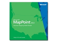 Microsoft MapPoint 2013 North America
