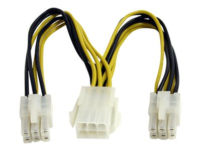 startech.com pci express power splitter cable