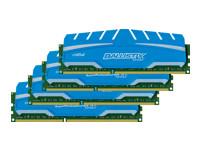 Ballistix Sport XT - DDR3 - 16 Go : 4 x 4 Go - DIMM 240 broches