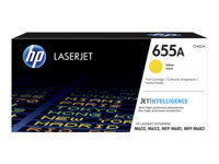 HP 655A - Yellow - original - LaserJet - toner cartridge (CF452A) - for Color LaserJet Enterprise M652, M653; LaserJet Enterprise Flow MFP M681, MFP M682