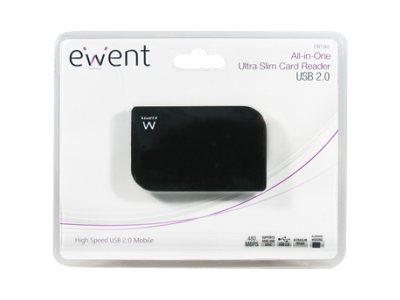 Eminent EW1065 Ultra Slim Card Reader USB2.0 All-in-One